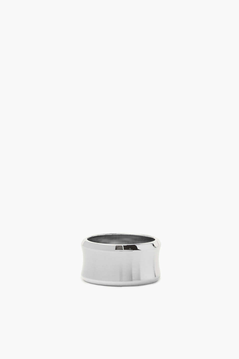 Esprit - Distinctive ring in satined stainless steel