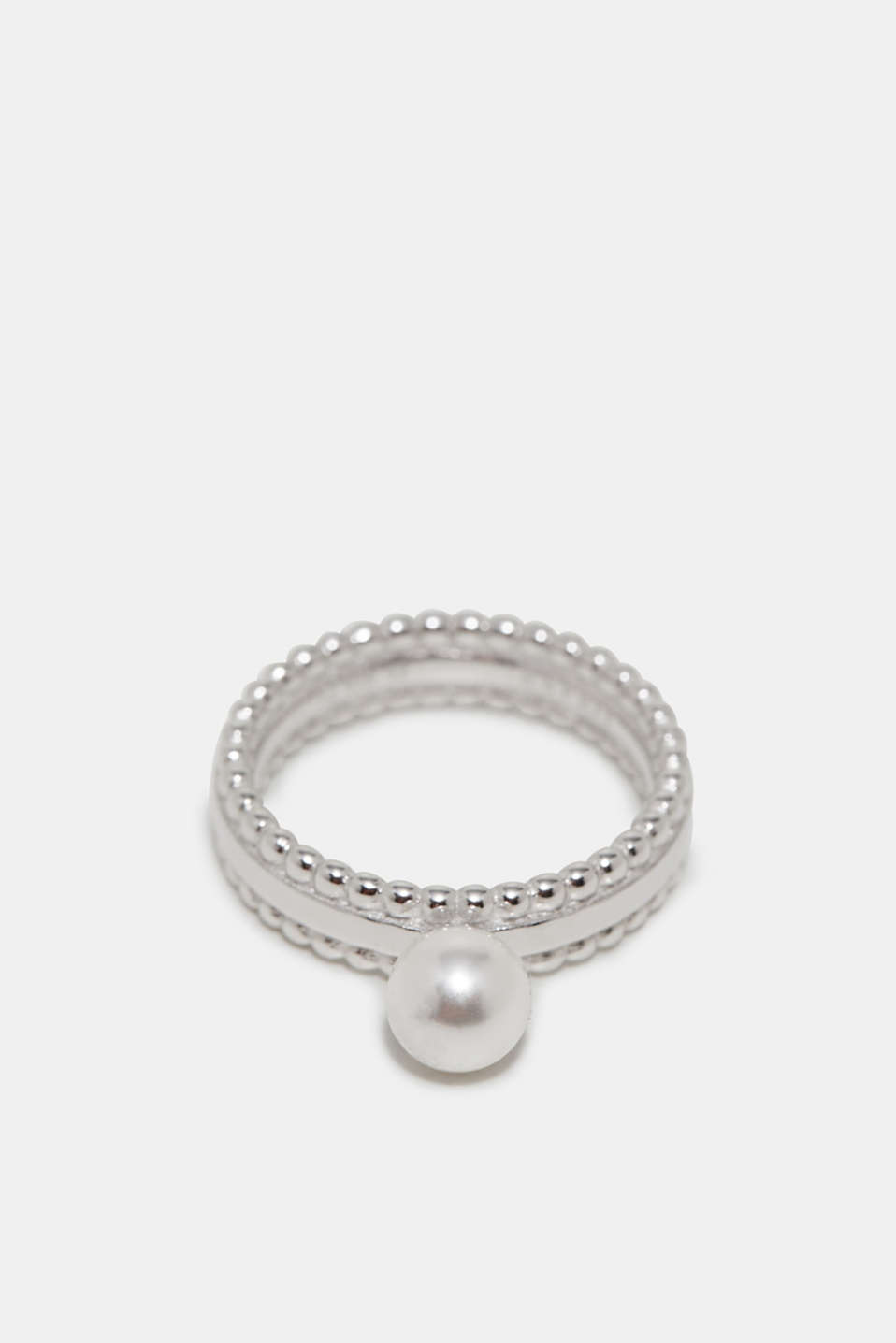 Esprit - Elegante ring met parel