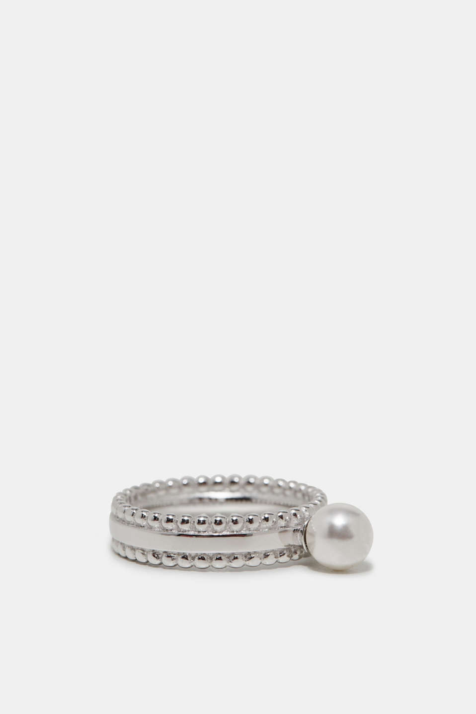 Elegante ring met parel
