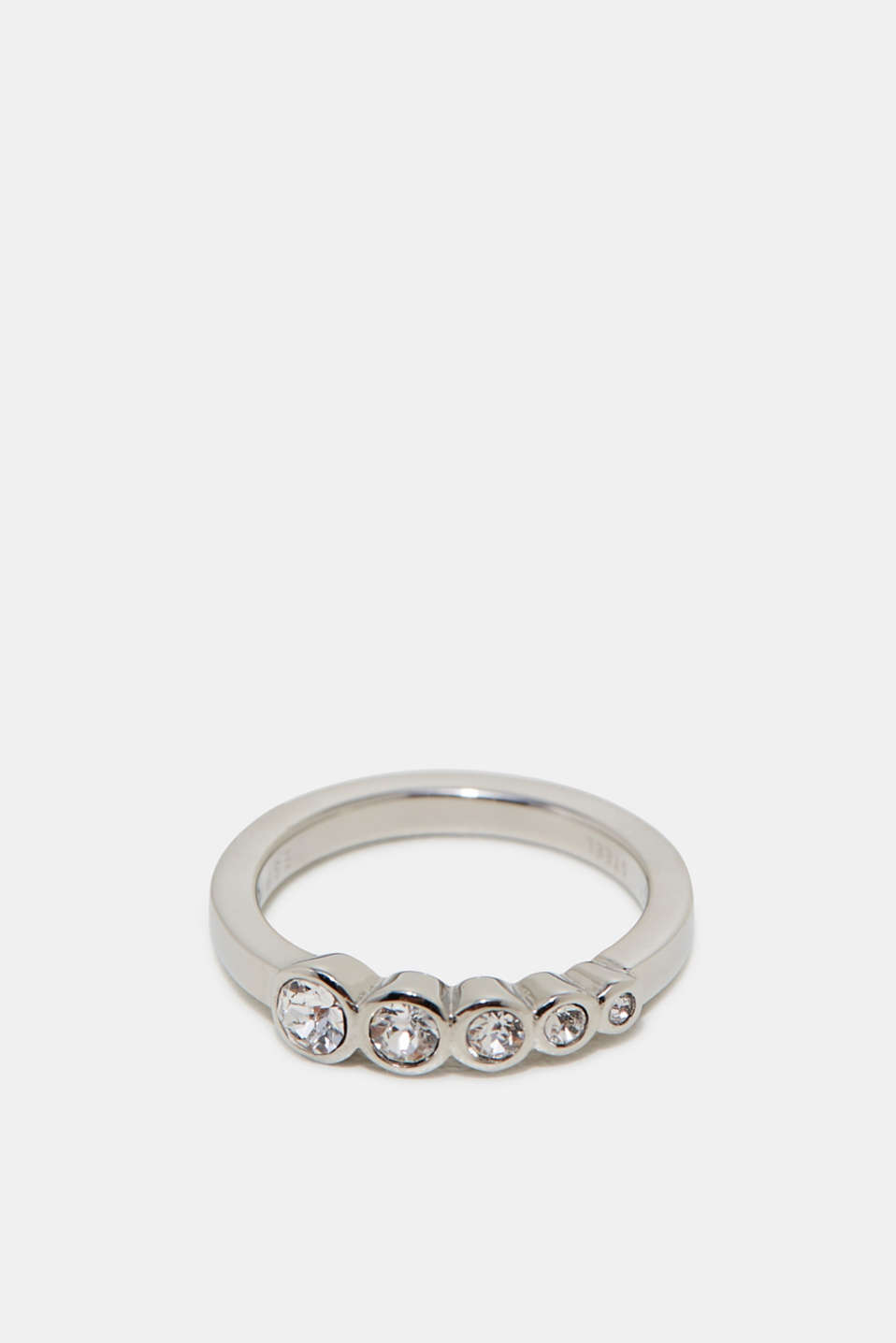 Esprit - Ring set with zirconia stones