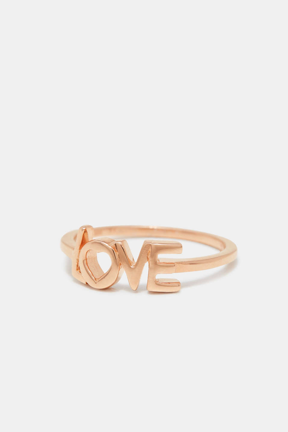 Esprit - Ring med LOVE-text, i silver