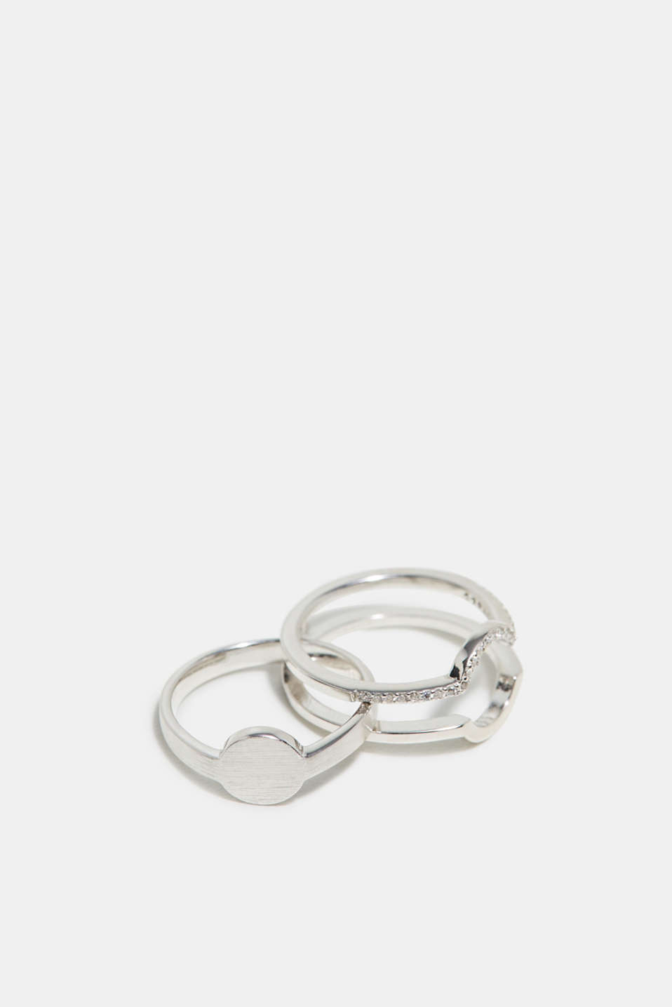Ring set in sterling silver, one colour, detail image number 1