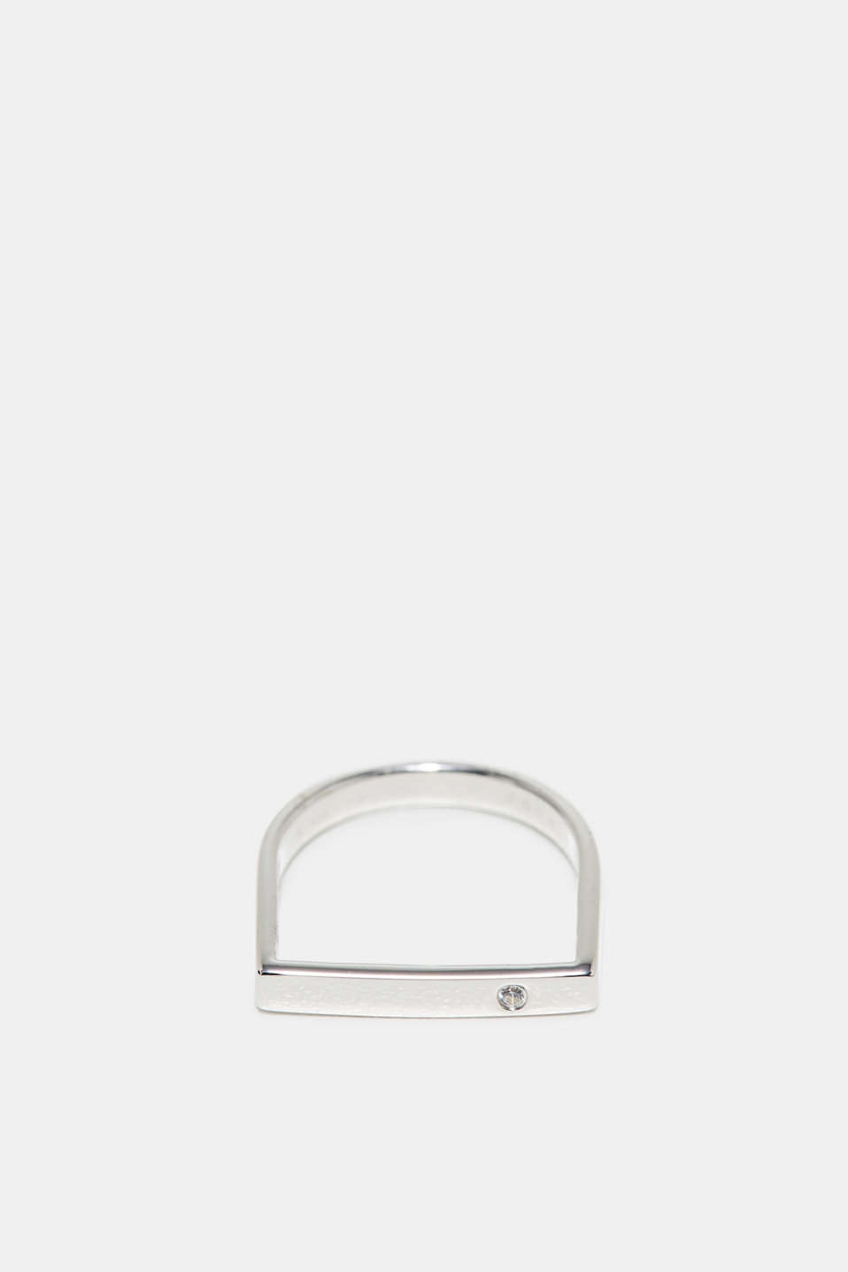 Esprit - Ring with zirconia, in sterling silver
