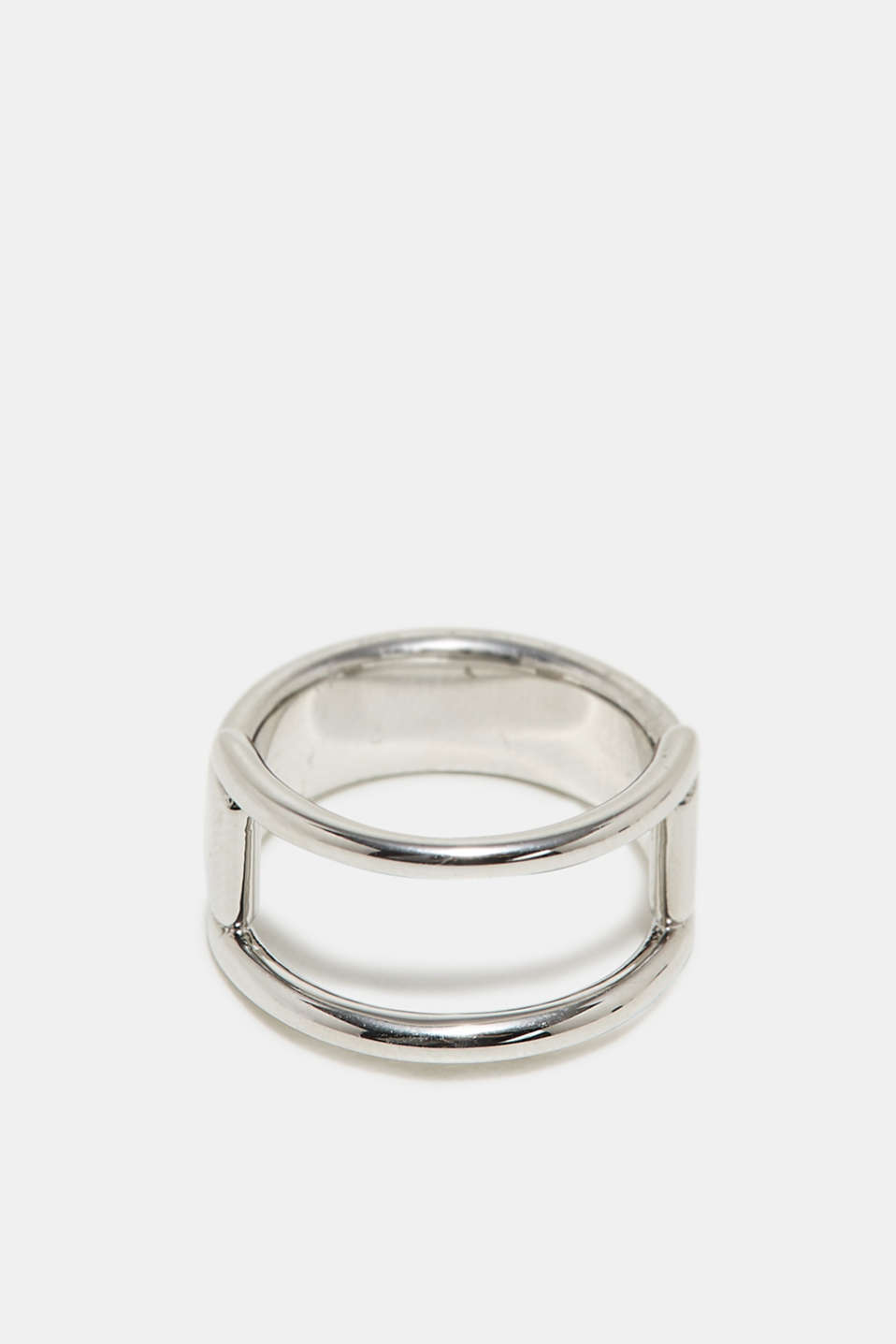Stainless steel ring, one colour, detail image number 0