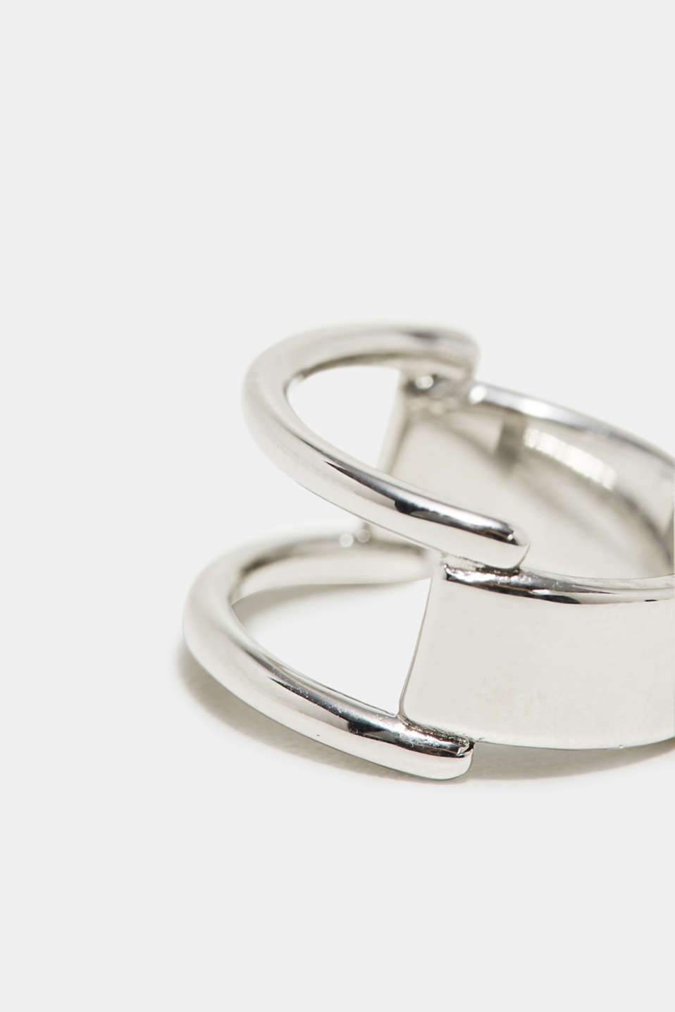 Stainless steel ring, one colour, detail image number 1