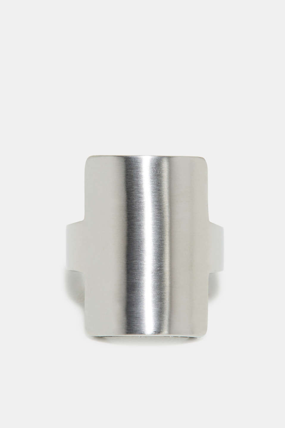 Stainless steel statement ring, one colour, detail image number 1