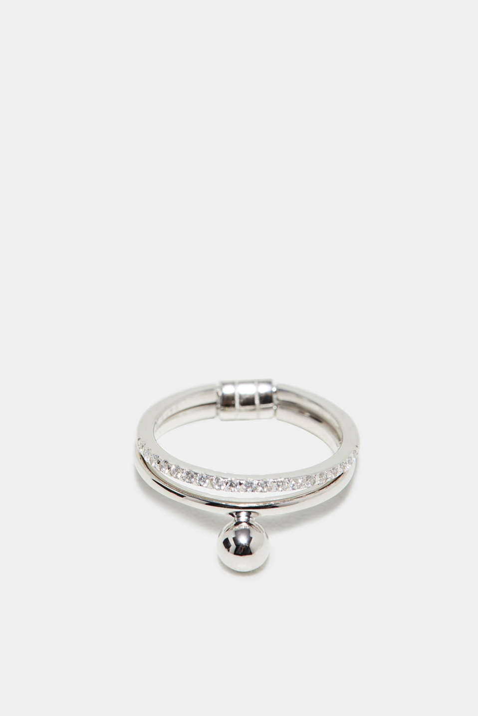 Esprit - Moveable ring in sterling silver