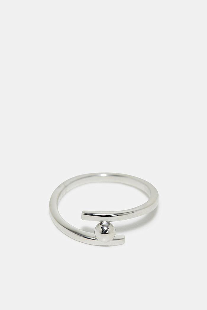 Ring aus Edelstahl, SILVER, detail image number 0