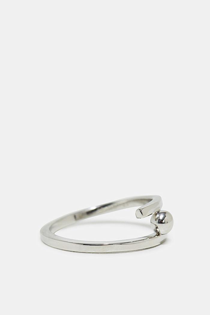 Ring aus Edelstahl, SILVER, detail image number 1
