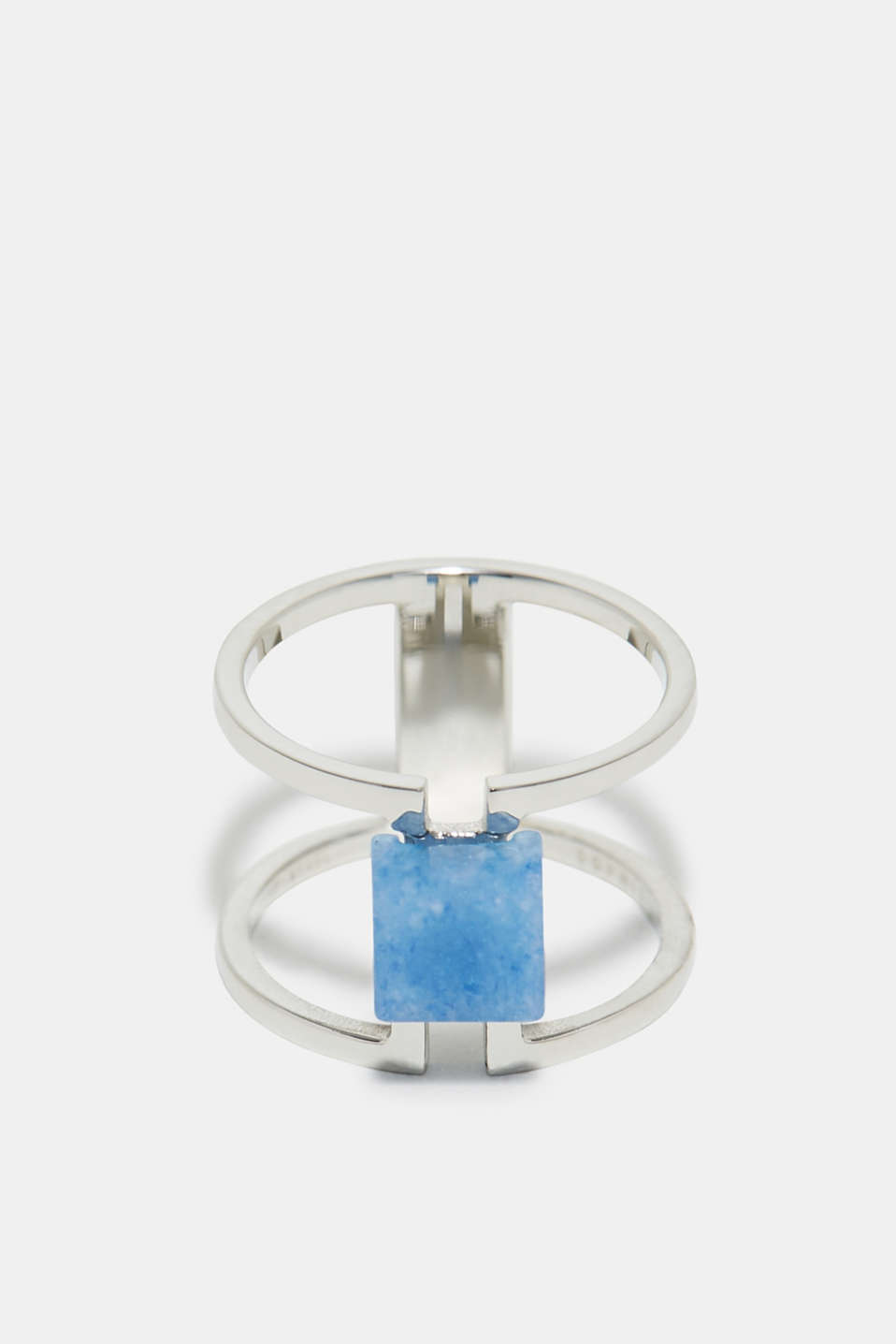 Esprit - Stainless steel ring with a gemstone