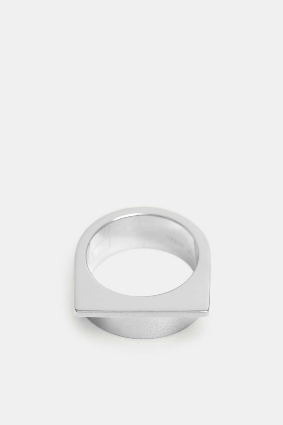 Stainless steel ring, SILVER, detail image number 0
