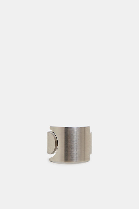 Stainless steel statement ring