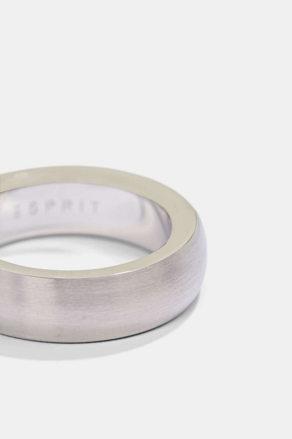 Stainless steel ring, SILVER, detail image number 1