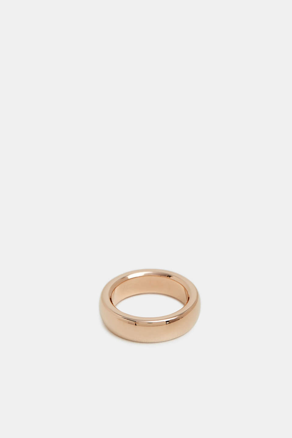 Stainless steel ring, ROSEGOLD, detail image number 0
