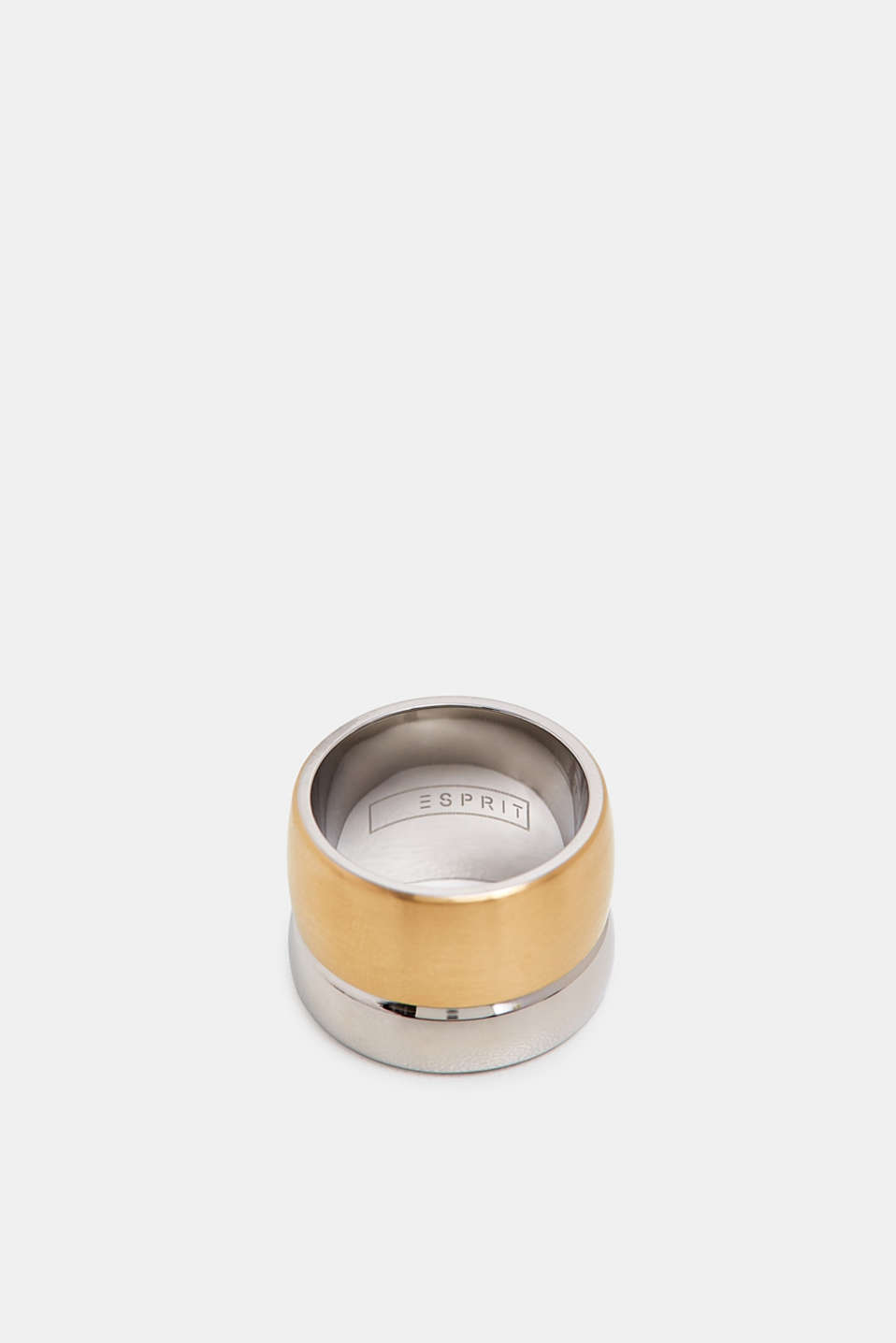 Esprit - Stainless steel statement ring
