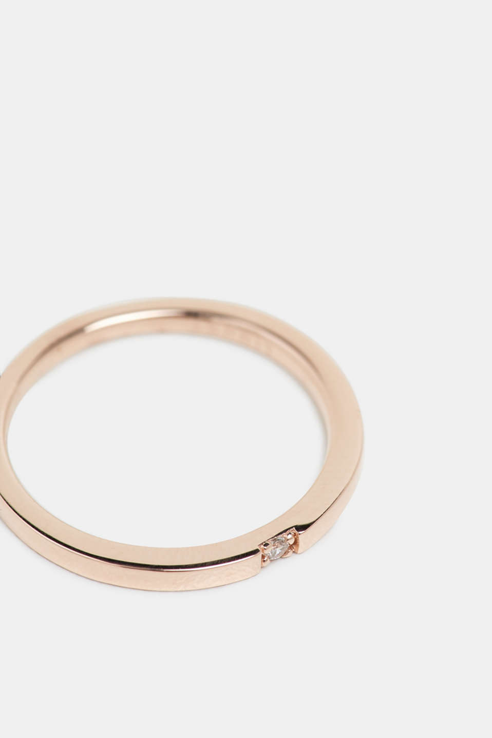 Rings silver, ROSEGOLD, detail image number 1