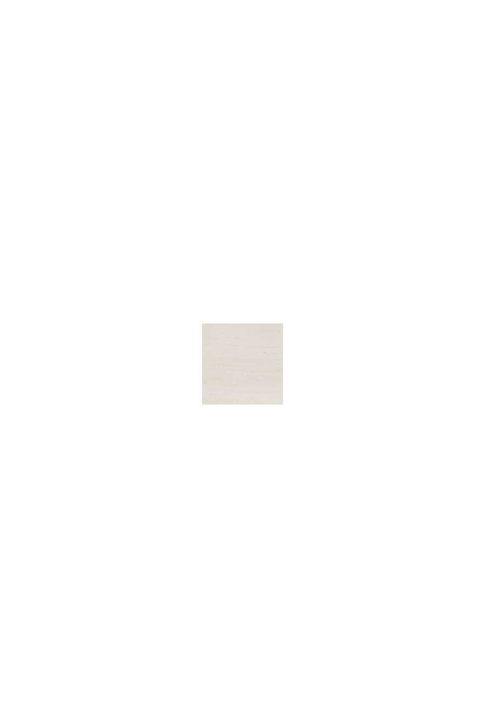 Ring mit Zirkonia-Reihe, Edelstahl, SILVER, swatch