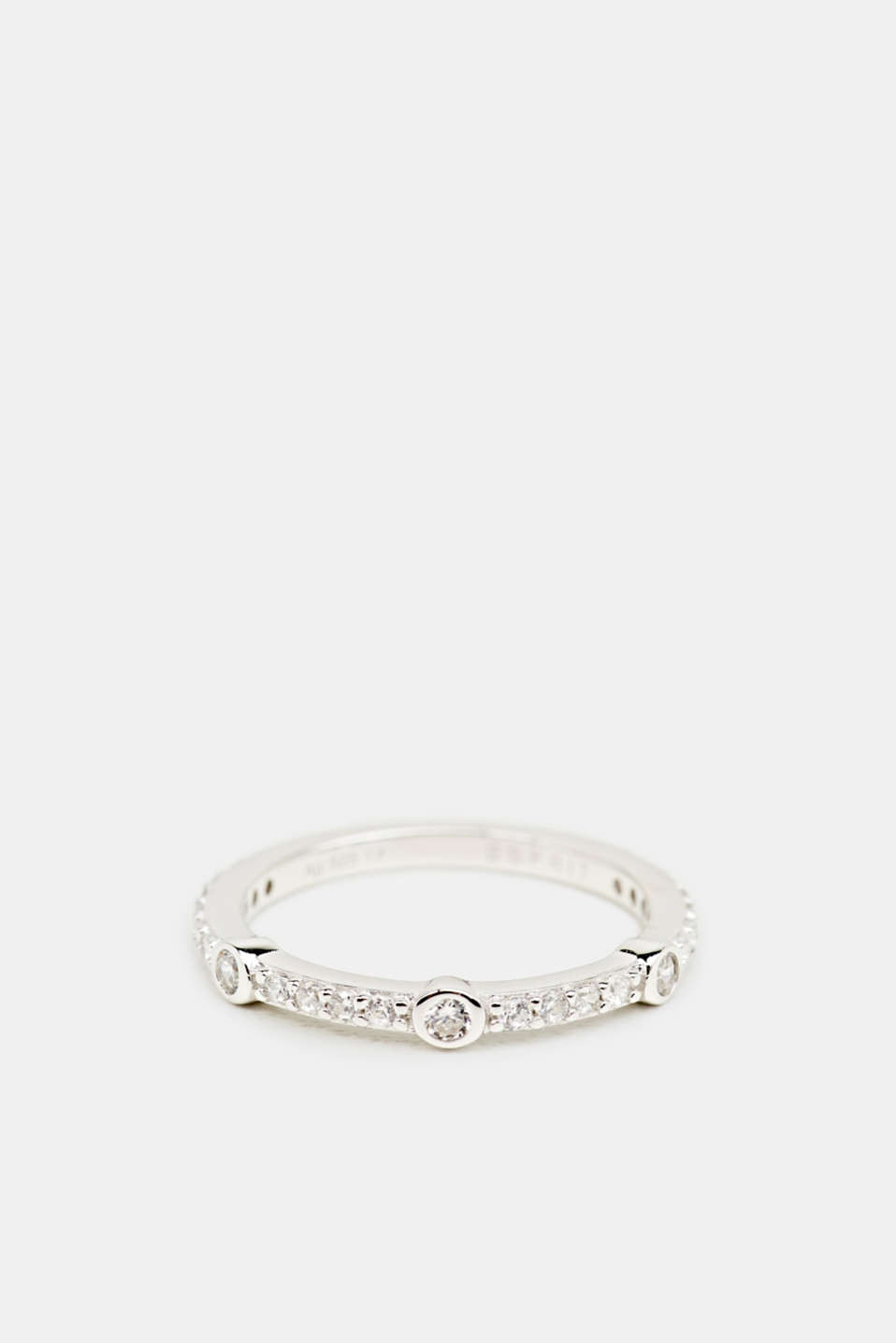 Esprit - Ring with zirconia, sterling silver