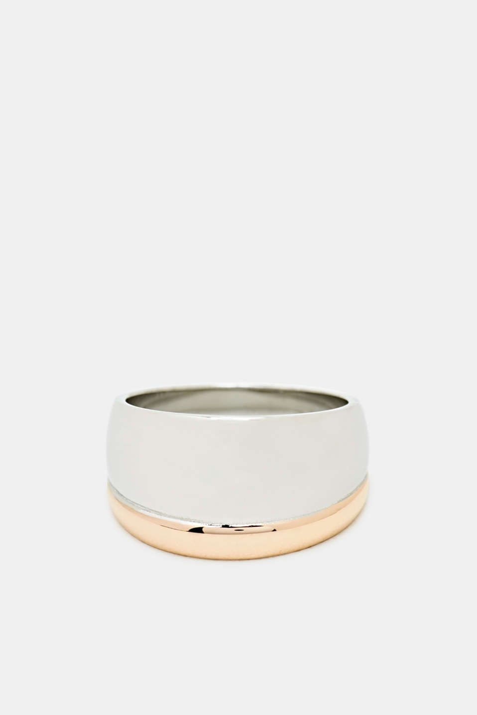 Esprit - Bi-colour stainless steel ring