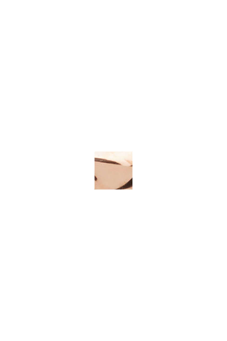 Rose gold ring with zirconia, made sterling silver, ROSEGOLD, swatch