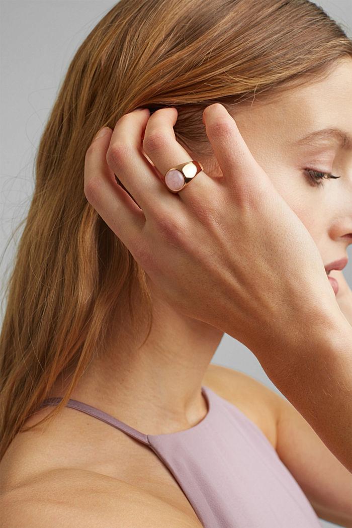 Signet-Ring aus Edelstahl