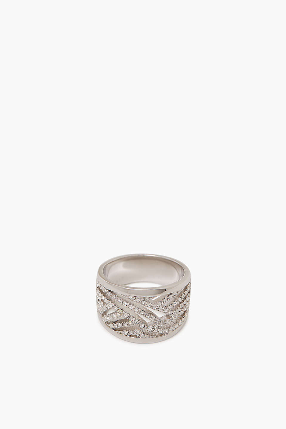 Statement ring met zirkonia