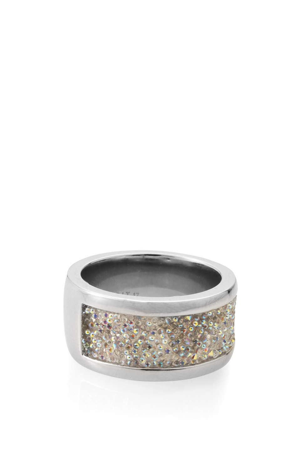 Esprit - wide ring with glitter section