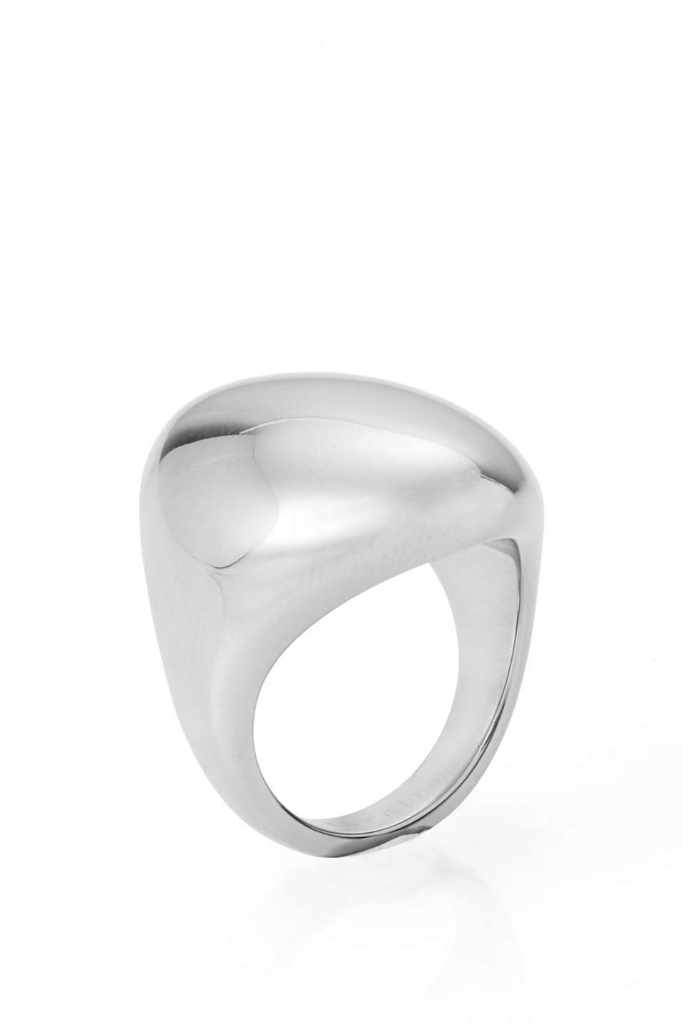 Esprit - arced stainless-steel ring