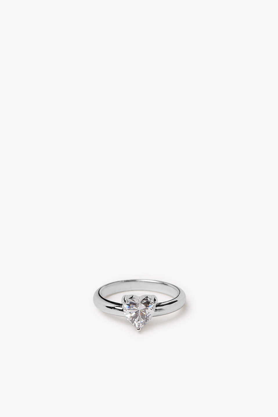 Esprit - Ring with heart-shaped zirconia