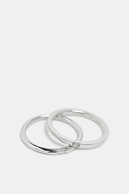 17  NEU UVP 39.90 Damen Silber Ring 925 Sterlingsilber vergoldet von Esprit Gr