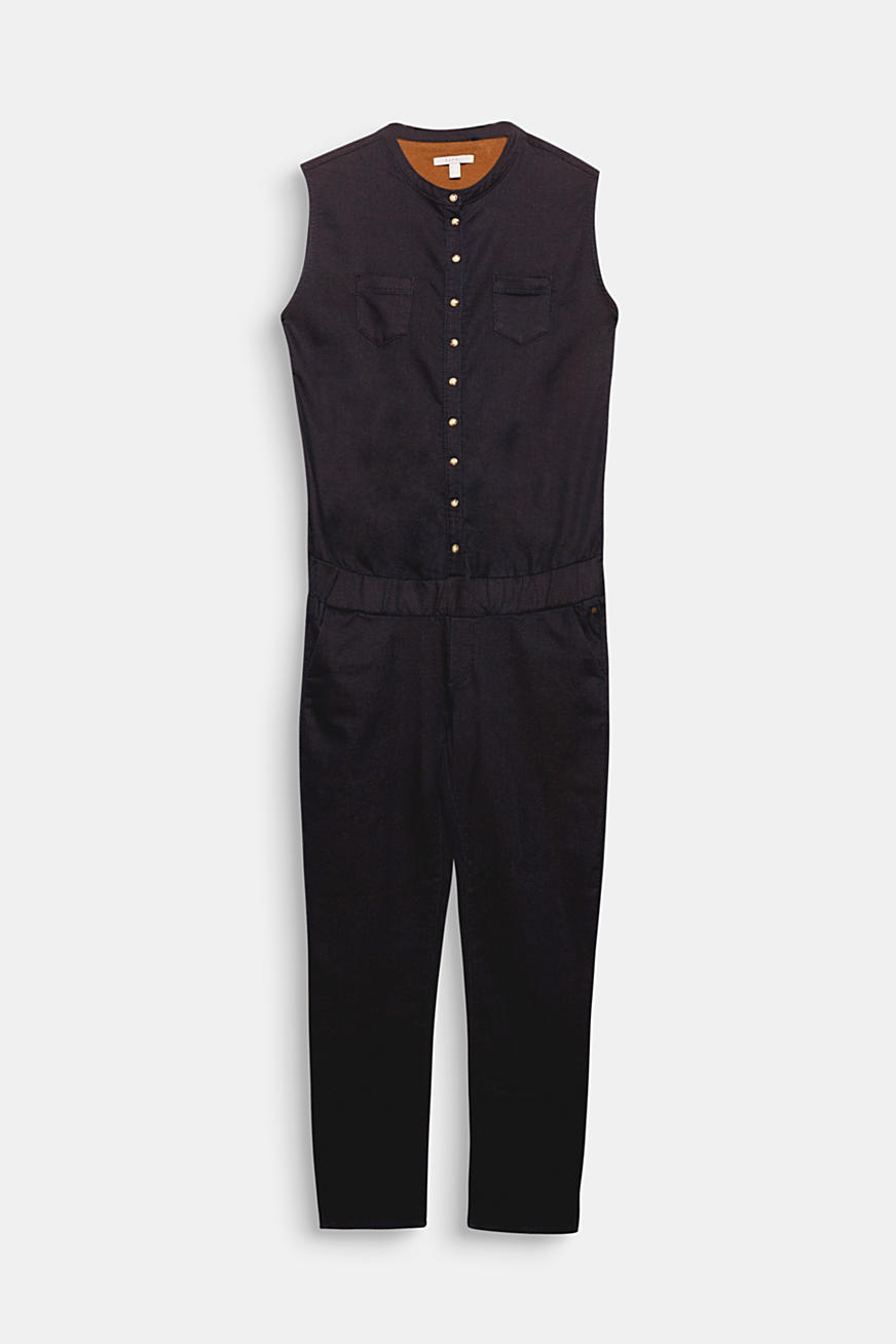 Jumpsuit made of firm stretch jersey