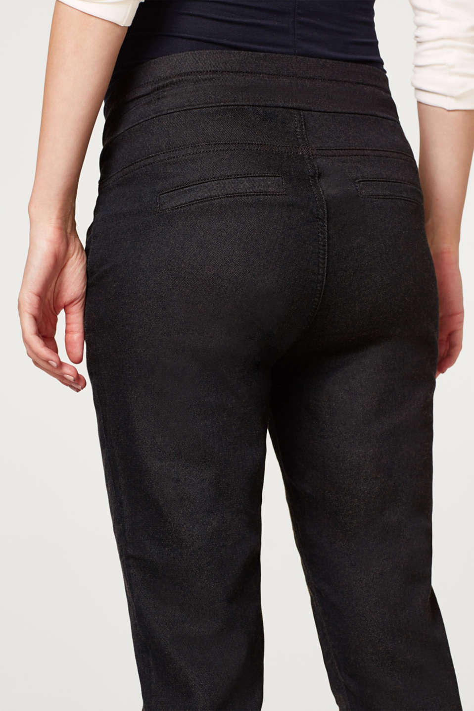 Tracksuit bottoms with an over-bump waistband, LCDARKWASH, detail image number 4