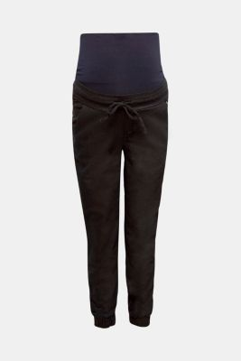 Tracksuit bottoms with an over-bump waistband, LCDARKWASH, detail