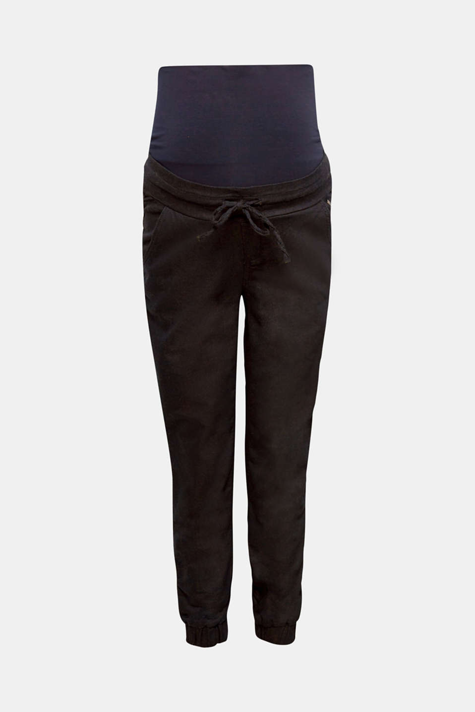 Tracksuit bottoms with an over-bump waistband, LCDARKWASH, detail image number 0
