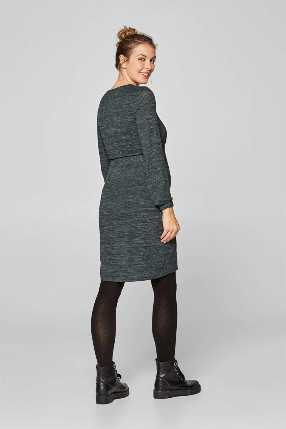 Dresses knitted, LCNAVY, detail image number 2