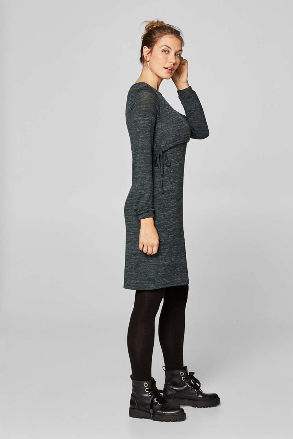 Dresses knitted, LCNAVY, detail image number 6