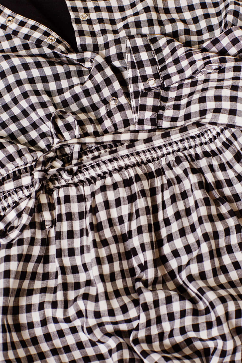 Trendily checked woven dress, LCBLACK, detail image number 4
