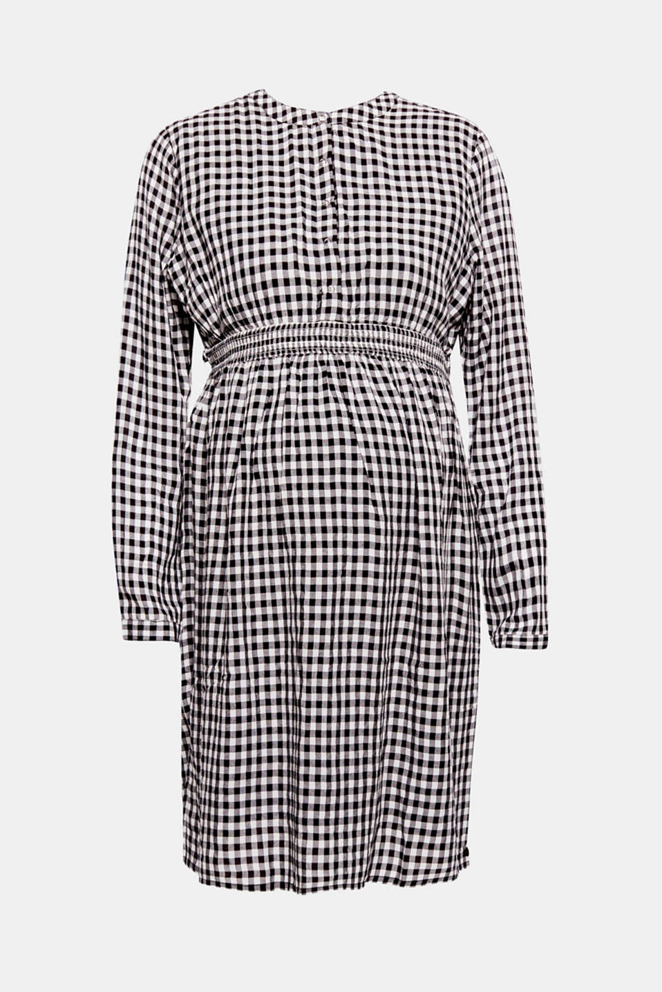 Esprit - Trendily checked woven dress
