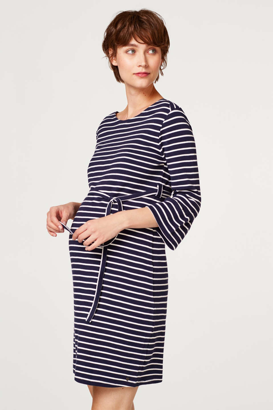 Esprit - Jersey dress made of organic cotton