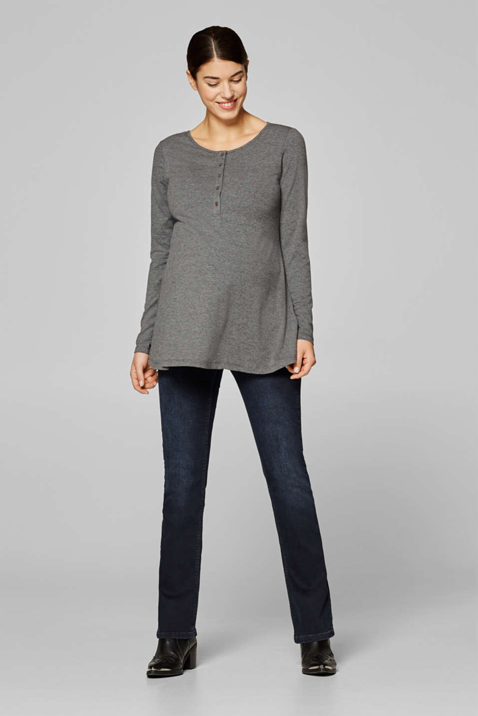 A-line nursing top
