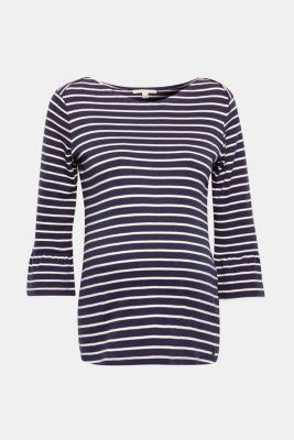 Soft, organic cotton T-shirt, LCNIGHT BLUE, detail