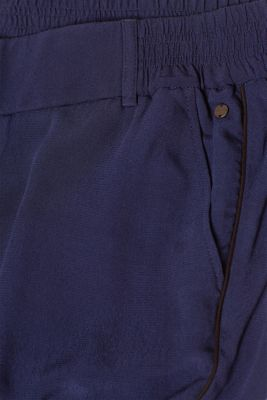 Tracksuit style trousers with an under-bump waistband, LCNIGHT BLUE, detail