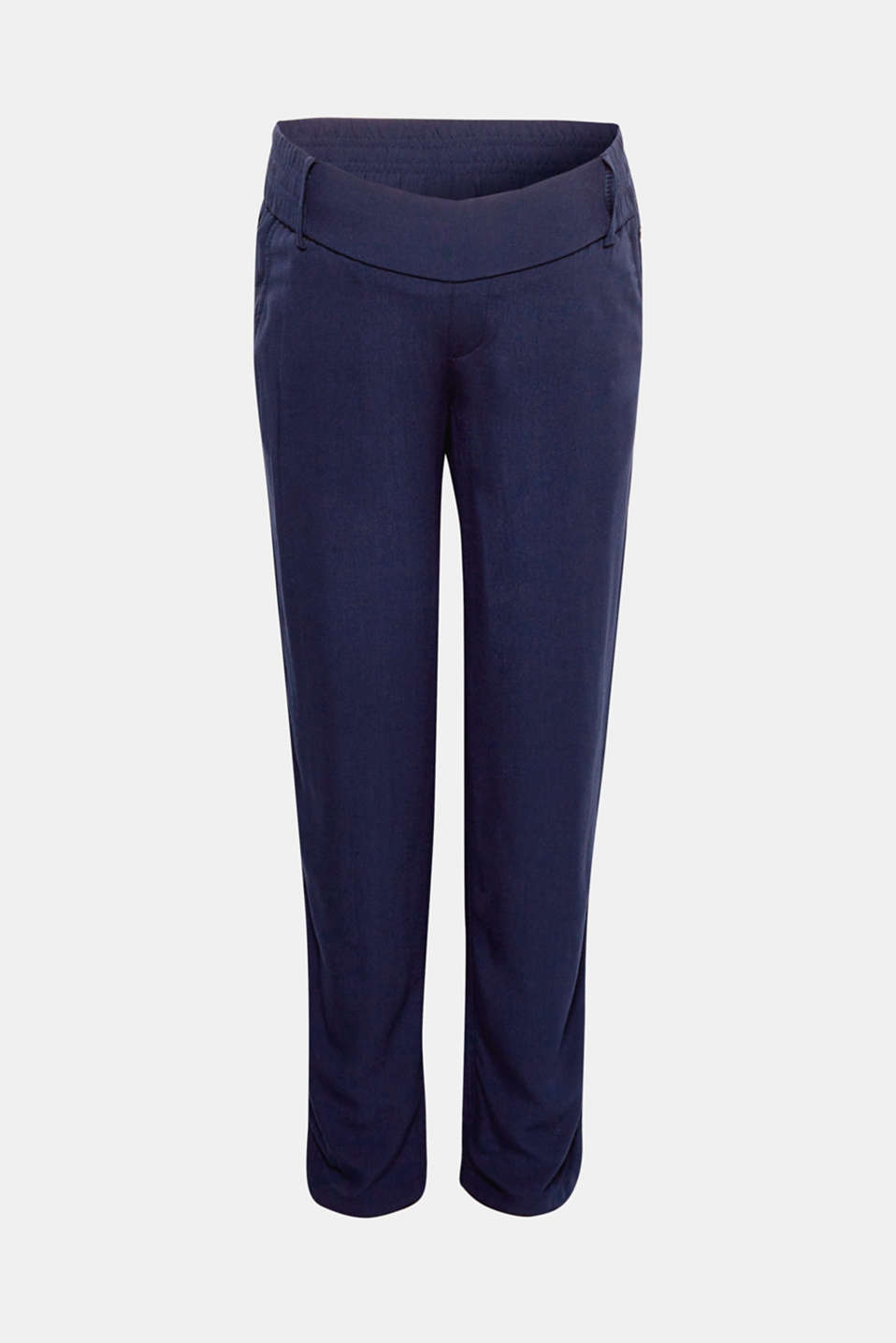 Tracksuit style trousers with an under-bump waistband, LCNIGHT BLUE, detail image number 2
