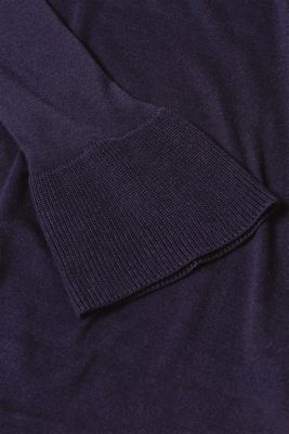 Basic jumper with flounce sleeves, LCNIGHT BLUE, detail