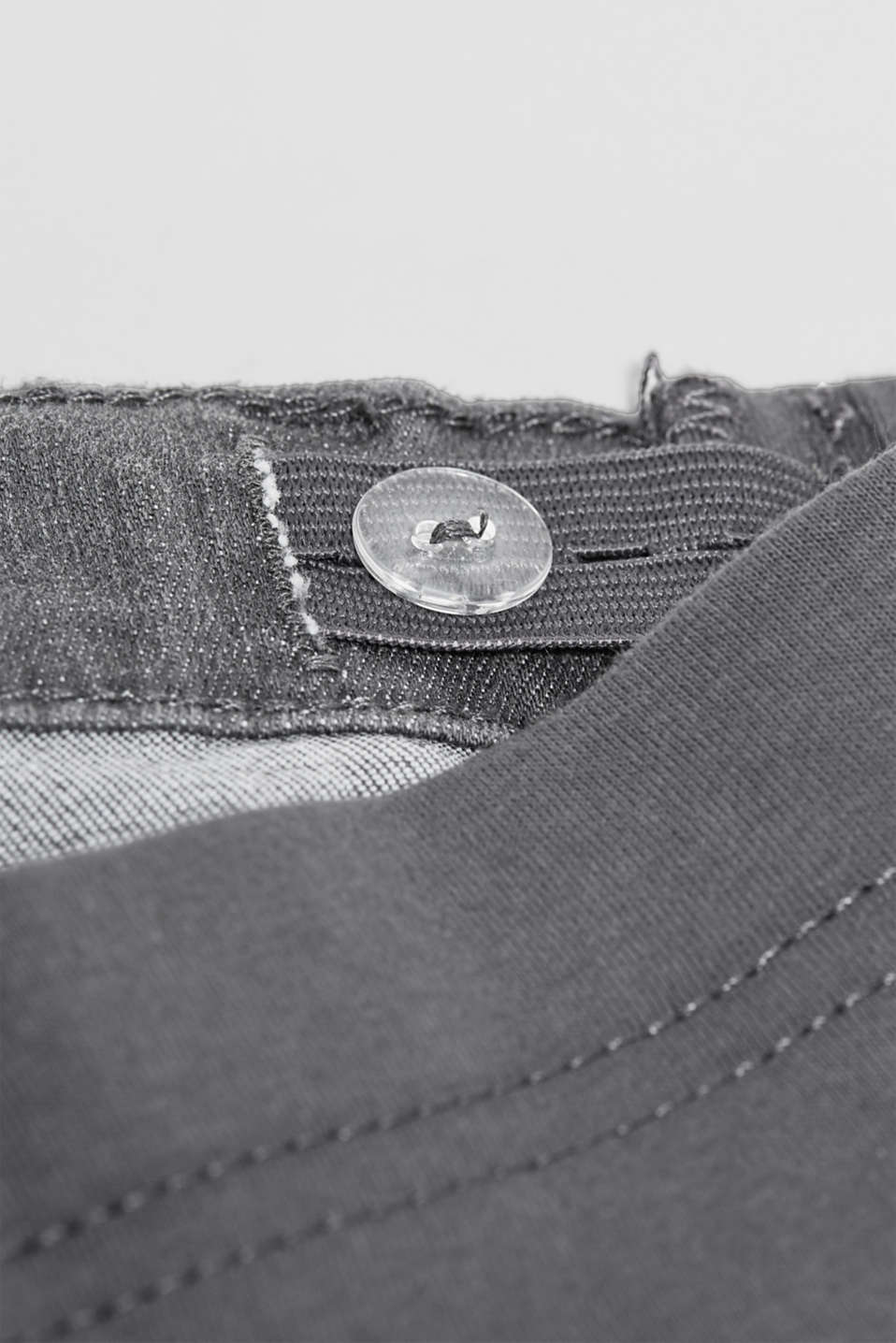 Jeggings with under-bump waistband, LCGREY DENIM, detail image number 4