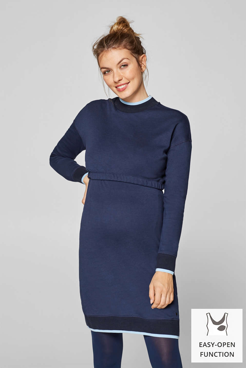 Esprit - Nursing sweatshirt dress