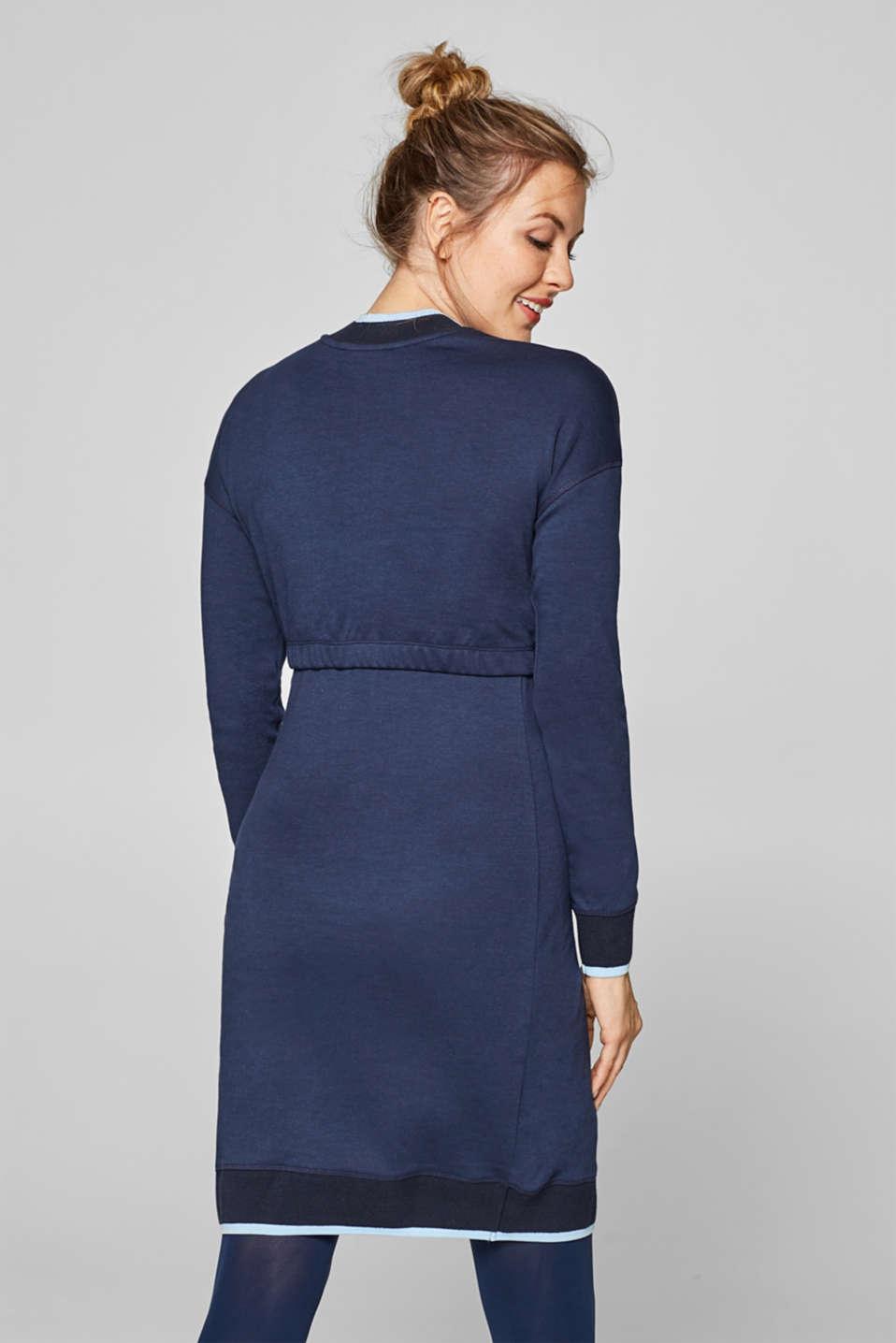 Nursing sweatshirt dress, LCNIGHT BLUE, detail image number 1
