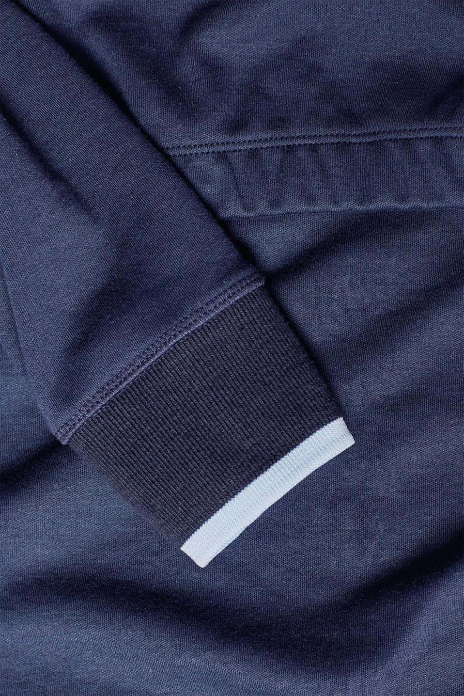 Nursing sweatshirt dress, LCNIGHT BLUE, detail image number 3