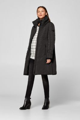 Incredibly variable quilted coat, LCBLACK, detail