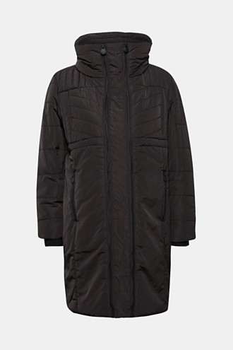 Incredibly variable quilted coat